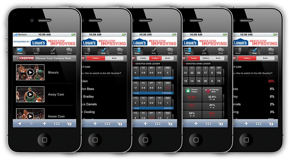 NBA Overtime Apps