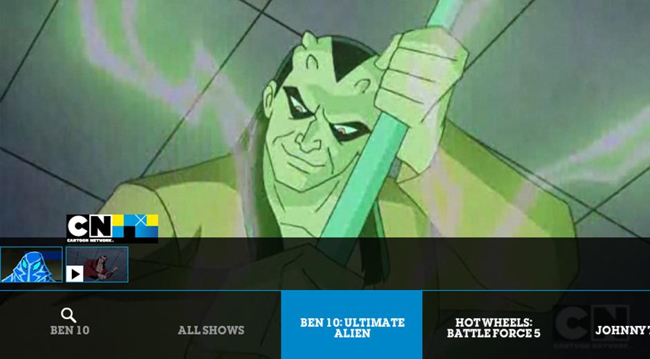 Cartoon Network Google TV App