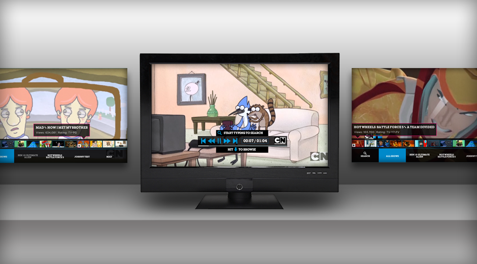 Cartoon Network Google TV App