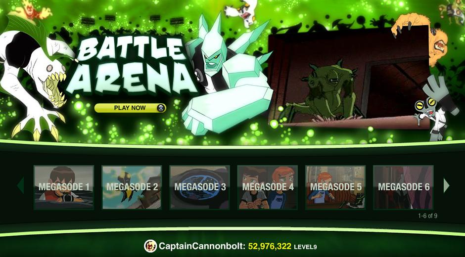 Cartoon Network Megasode Playstation App