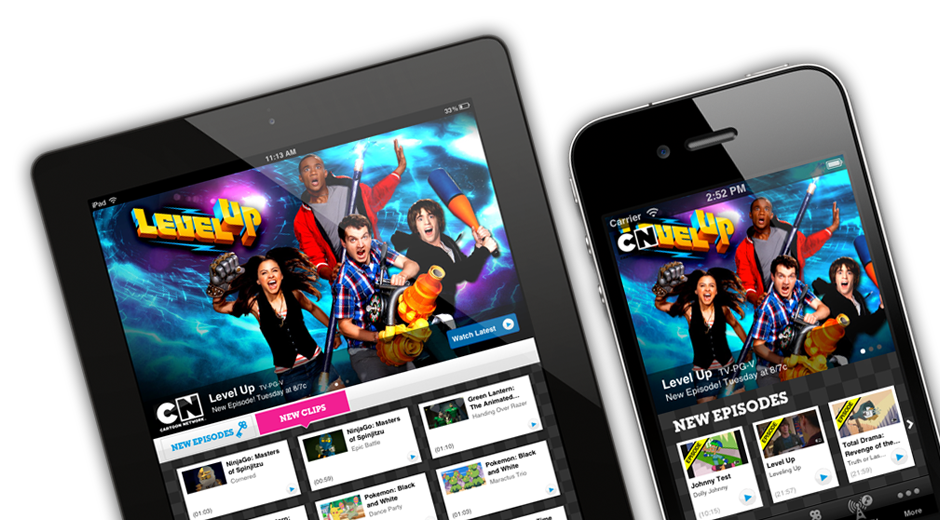 Cartoon Network Video Mobile Apps