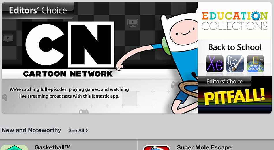 Cartoon Network Watch & Play Mobile Apps