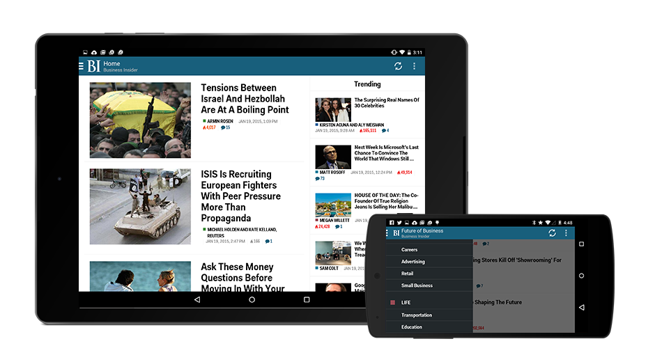 Business Insider Android App