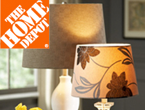 Home Depot Mix and Match Lamps