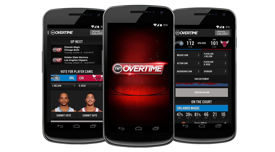 NBA Overtime Android App
